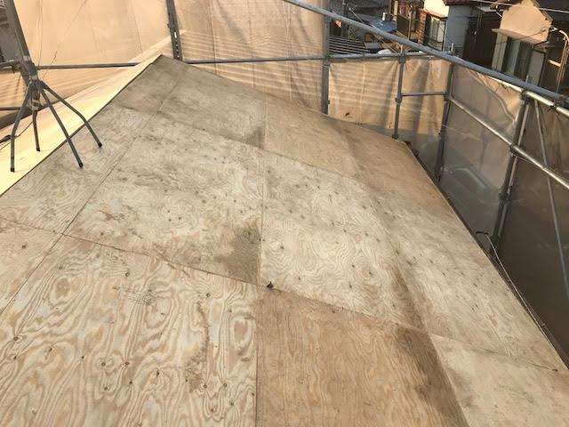 野地板の補強2